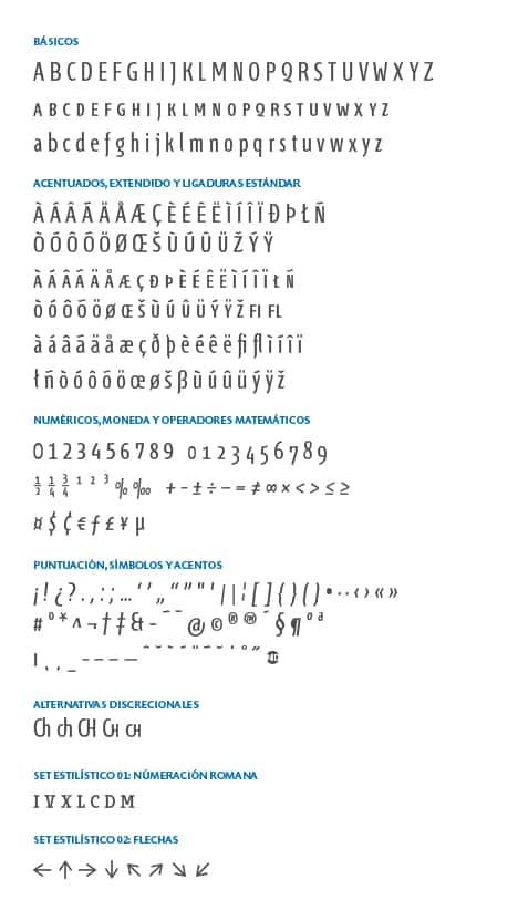 GlyphSet-Fontana-ND-RegularCompressed