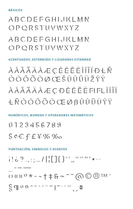 GlyphSet-Fracutra-ND-Regular