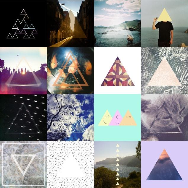 Proyecto Daily Triangle de Nina Sans.