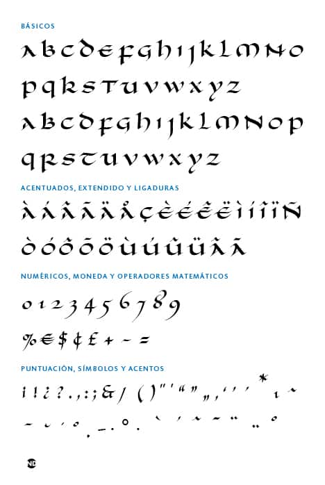GLYPH-SET-Uncial-Romana-ND-Regular