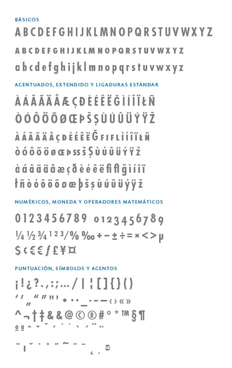 GlyphSet_Futura-ND_BoldCondensed