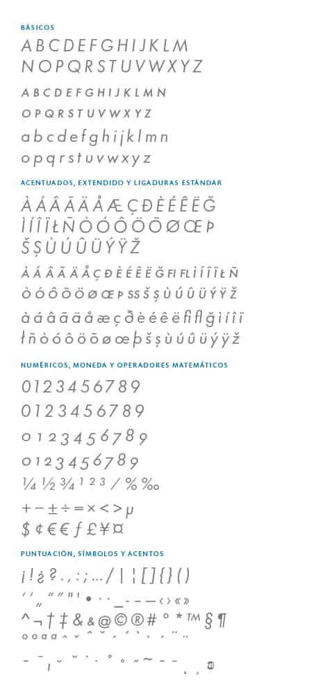 GlyphSet_Futura-ND_BookItalic