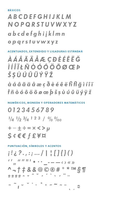 GlyphSet_Futura-ND_DemiItalic