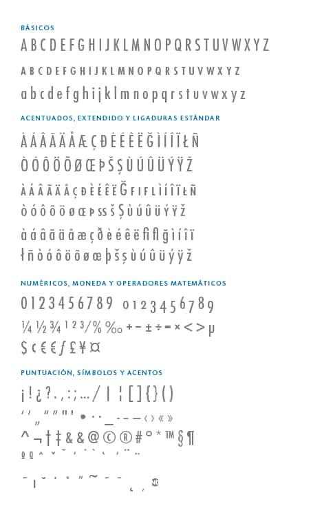 GlyphSet_Futura-ND_MediumCondensed