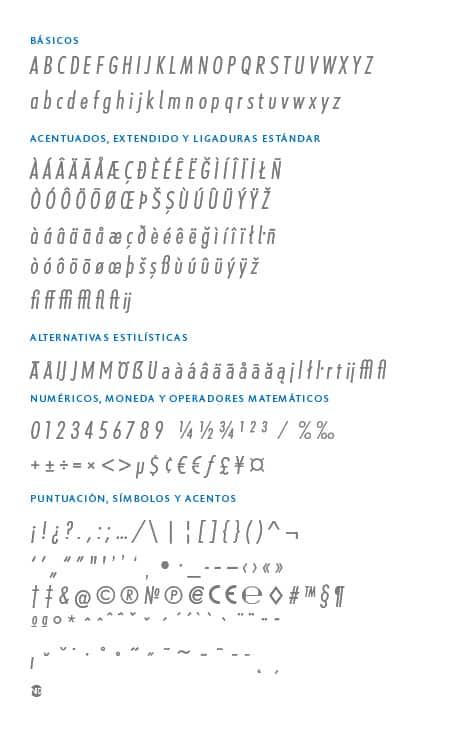 GlyphSet_Futura-ND-Alt_LightItalicCondensed