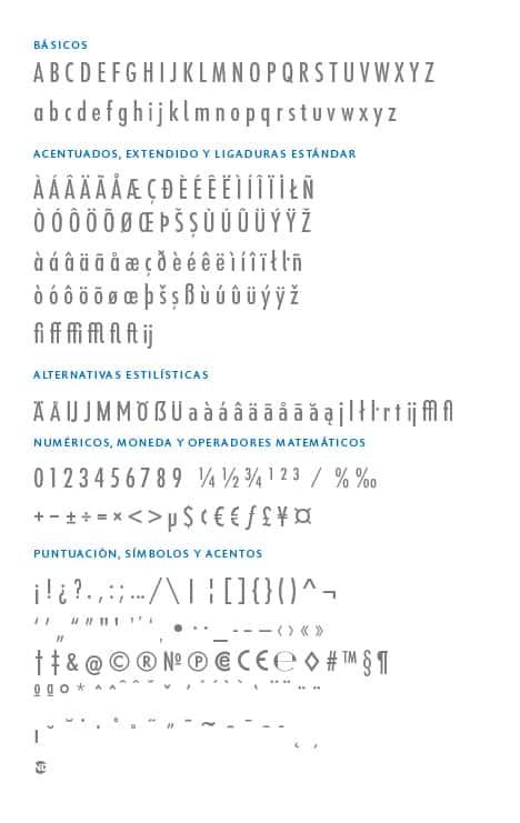 GlyphSet_Futura-ND-Alt_MediumCondensed