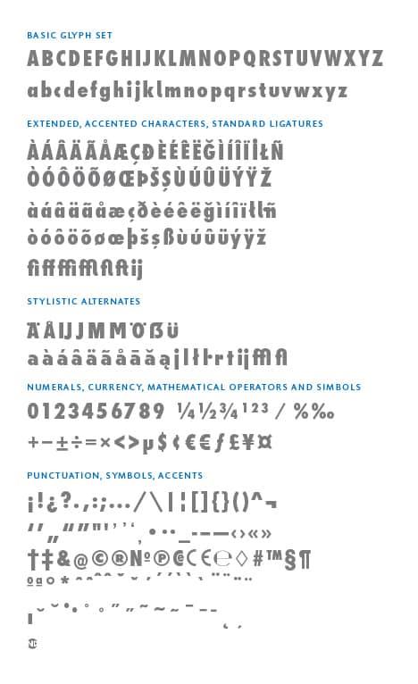 GlyphSet_en_Futura-ND-Alt_ExtraBoldCondensed