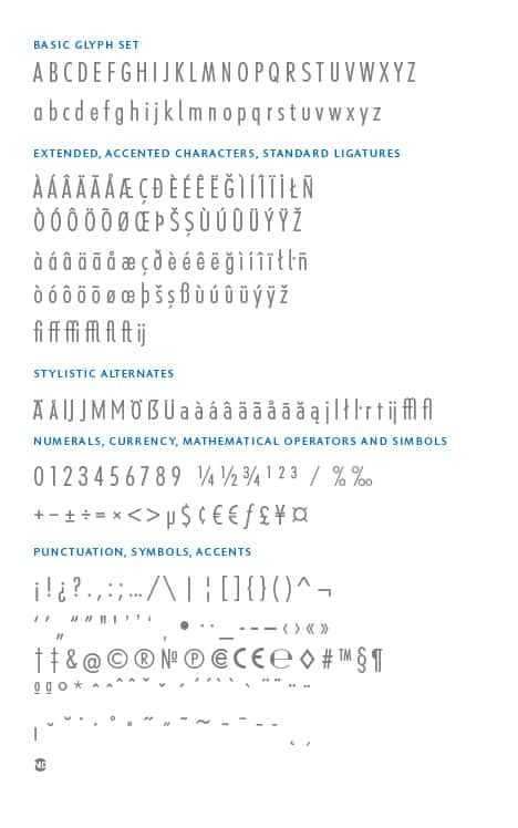 GlyphSet_en_Futura-ND-Alt_LightCondensed