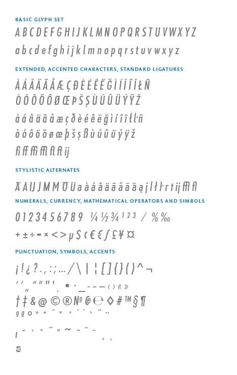 GlyphSet_en_Futura-ND-Alt_MediumCondensedItalic