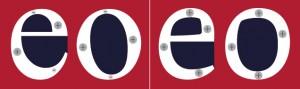 Izquierda: Times New Roman; derecha: Andralis ND. Aplicación de grosores inspirado en la escritura devanagari.