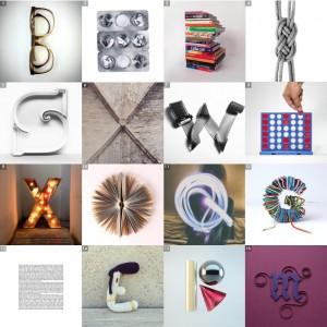 [1] B por por @don.kk – [2] H por @burcugunister – [3] B por @guillemcasasus y @bermudez1988 – [4] 8 por @oscargrafico – [5] S por @digitalnathan – [6] X por @ilerlletres – [7] W por @theanimismus – [8] H por @coolte.net_studio – [9] X por @thefonthunter – [10] O por @georgiacurrell – [11] Q por @lolagif – [12] G por @doguib7 – [13] E por @instacata – [14] E por @ameskeria – [15] R por @bymarioalmaraz – [16] M por @battery_full